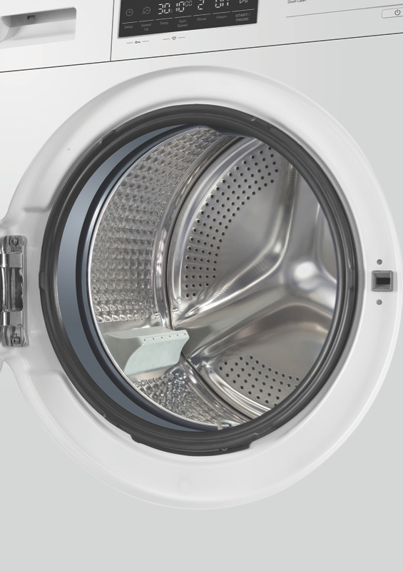 Haier 12kg Front Load Washing Machine - White HWF12D1W1