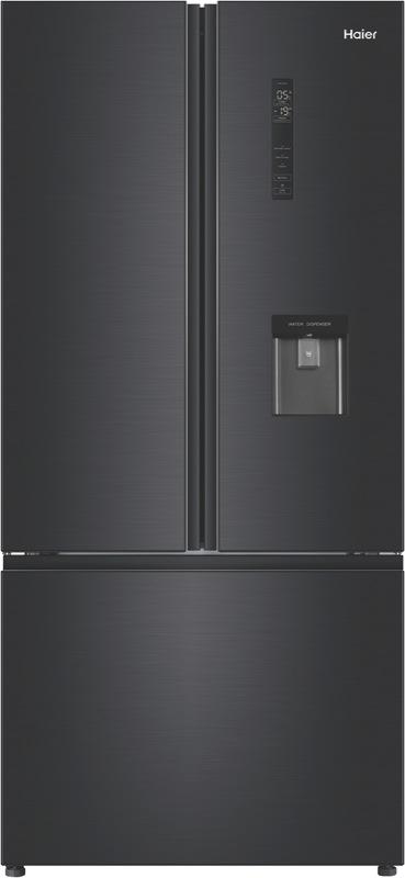Haier 514L French Door Fridge – Black HRF520FHC