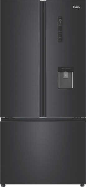 Haier 514L French Door Fridge – Black HRF520FHC