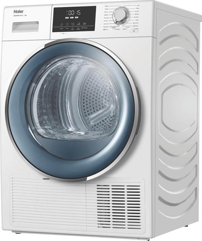 Haier 8kg Heat Pump Dryer – White HDHP80E1