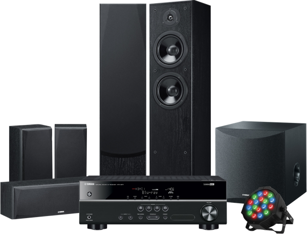 Yamaha 5.1ch Home Theatre System LIVESTAGE5400
