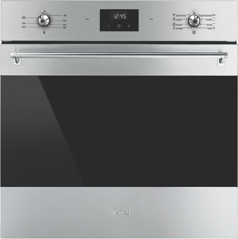 Smeg 60cm Built-In Pyrolytic Oven - Stainless Steel SFPA6300TVX