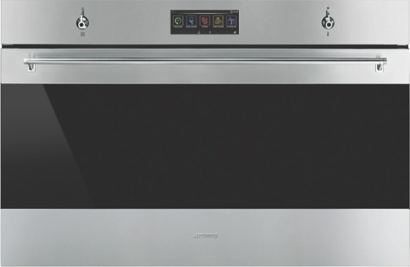 Smeg 90cm Built-In Pyrolytic Oven - Stainless Steel SFPA9305SPX