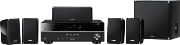 Yamaha 5.1ch Home Theatre System YHT1840B