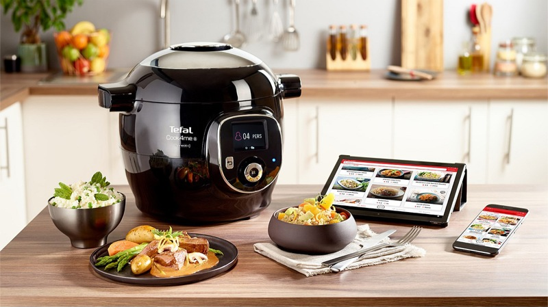 Tefal Cook4Me + Connect Multicooker CY8558