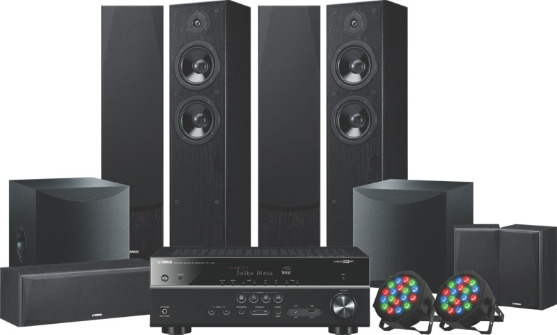 Yamaha 7.2ch Home Theatre System LIVESTAGE7500