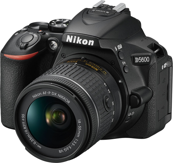 Nikon Digital SLR Camera D5600 AFP 18-55mm VR & 55-200mm VRII