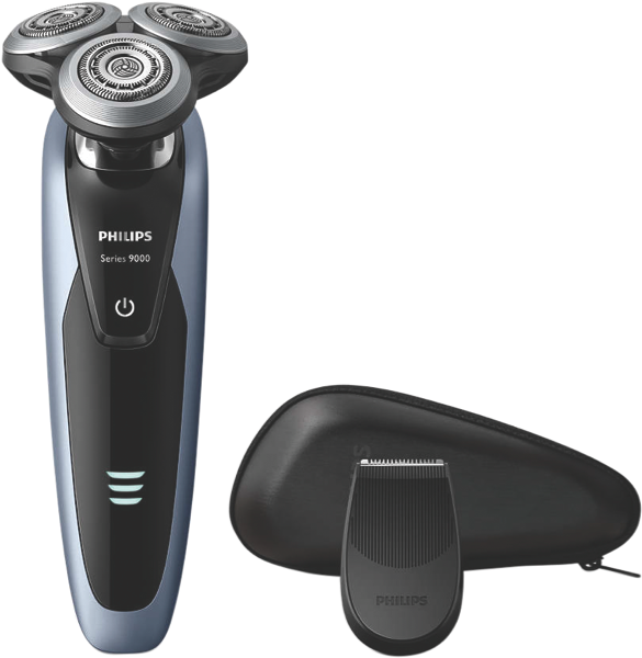 Philips Series 9000 Wet & Dry Shaver – Black & Blue S921112