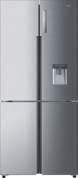 Haier 565L Quad Door Fridge - Satina HRF565YHS