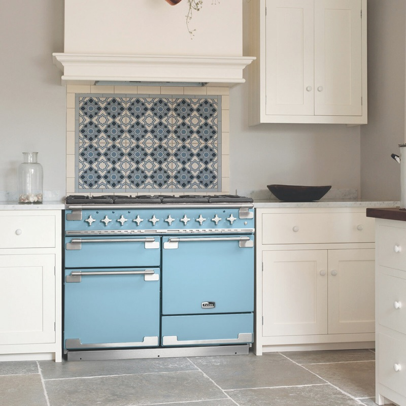 Falcon 110cm Freestanding Dual Fuel Cooker - China Blue ELS110DFCAN
