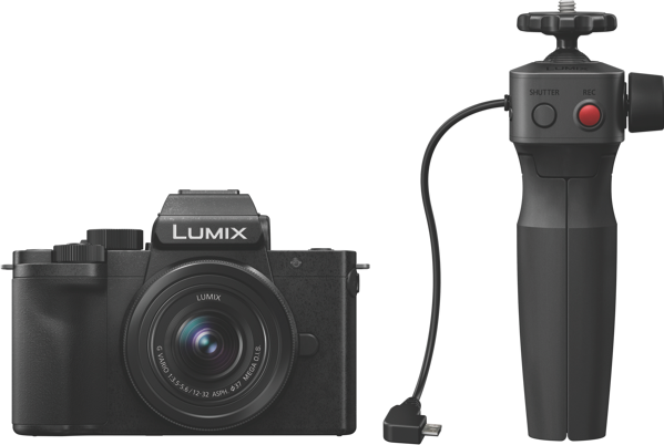 Panasonic Lumix G100 Mirrorless Camera + 12-32mm Lens Kit + Grip DCG100VGNK