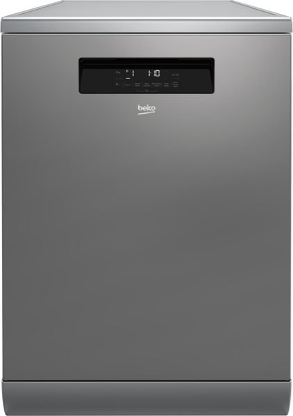 Beko 60cm Freestanding Dishwasher - Stainless Steel BDF1630X