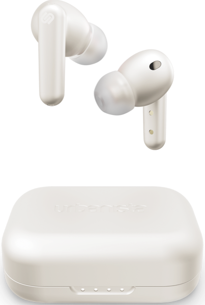 Urbanista London True Wireless Noise Cancelling Earbuds - White Pearl LONDONWP