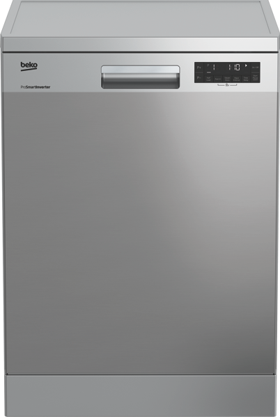 Beko 60cm Freestanding Dishwasher - Stainless Steel BDF1620X