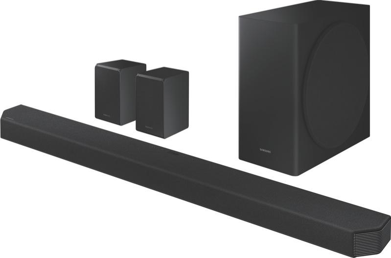 Samsung Q950T 9.1.4ch Soundbar – Black HWQ950TXY