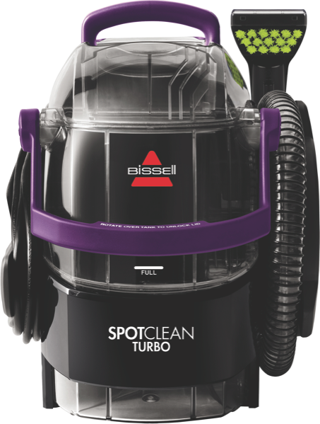 Bissell SpotClean Turbo Carpet Cleaner - Black/Purple 15582