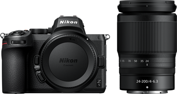Nikon Z 5 Mirrorless Camera + Z 24-200mm Lens Kit VOK040YA