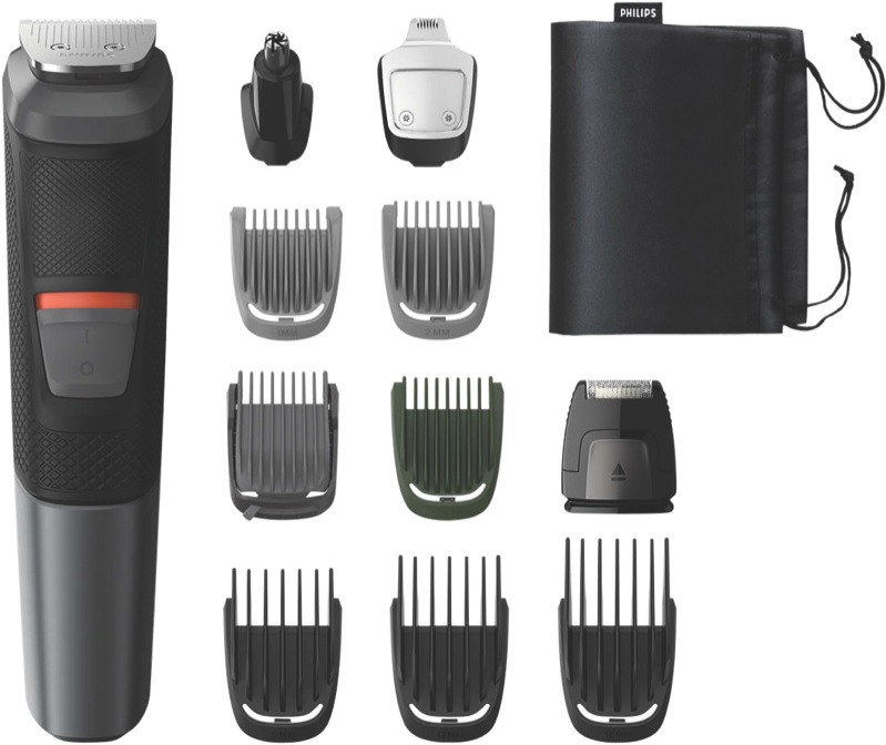 Philips Series 5000 11-in-1 Multigroom Trimmer – Black MG573015