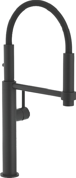 Franke Pescara Single Lever Pull Out Mixer Tap - Matte Black TA7360MB