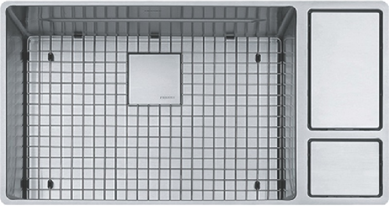 Franke Chef Centre Single Undermount Sink - Stainless Steel CUX11024W