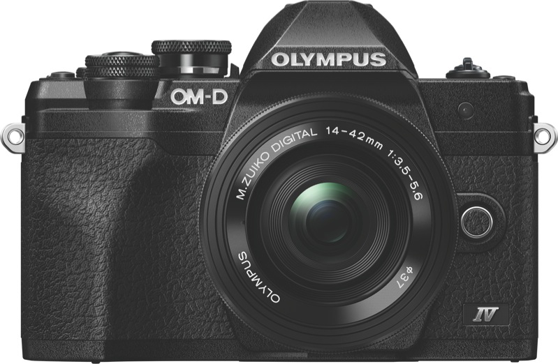 Olympus OM-D E-M10 Mark IV Mirrorless Camera + 14-42mm Lens Kit V207132BA000