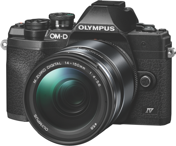 Olympus OM-D E-M10 Mark IV Mirrorless Camera + 14-150mm Lens Kit V207133BA000