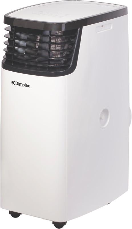 Dimplex 3.2kW Multi Directional Portable Air Conditioner - White/Black DCP11MULTI