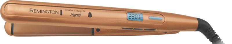 Remington Keratin & Argan Oil Nourish Straightener - Gold S7505AU