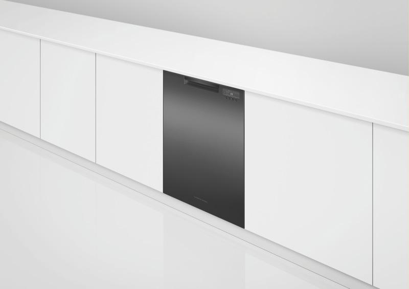Fisher & Paykel 60cm Built-Under Dishwasher - Black DW60UC6B