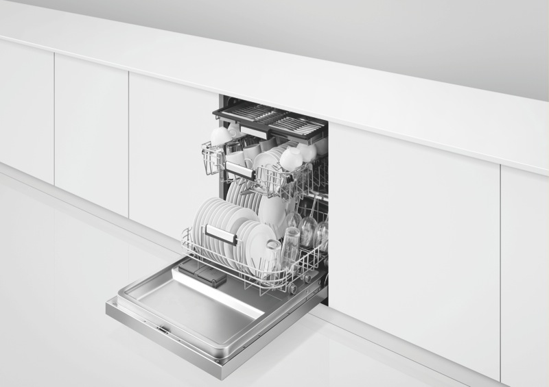 Fisher & Paykel 60cm Built-Under Dishwasher - Stainless Steel DW60UC6X