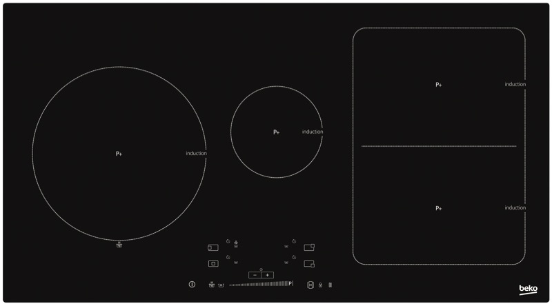 90cm Induction Cooktop HII94400FT