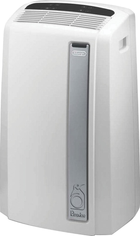 DeLonghi 2.9kW Cooling Only Portable Air Conditioner - Grey PACAN112SILENT