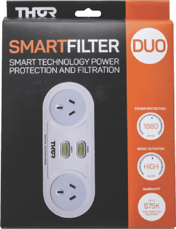Thor Smart Duo 2-Outlet Surge Protector C2