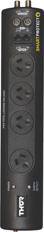 Thor Smart Protect 4-Outlet Surge Protector E145S