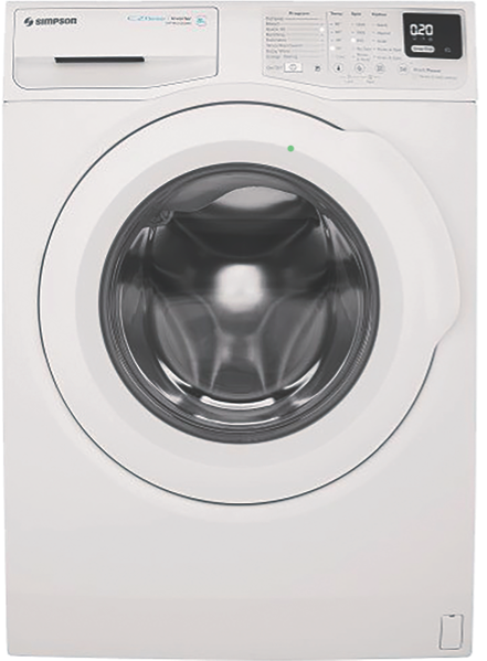 Simpson 7kg Front Load Washing Machine SWF7025EQWA