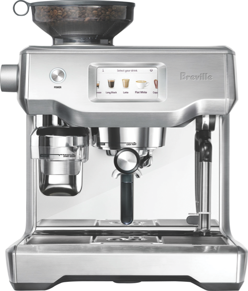 Breville The Oracle Touch Fully Automatic Espresso Coffee Machine - Brushed Stainless Steel BES990BSS
