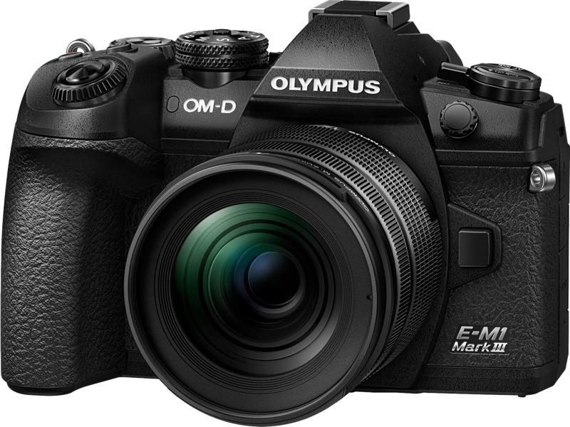 Olympus OM-D E-M1 Mark III Mirrorless Camera + 12-40mm Lens Kit V207101BA000