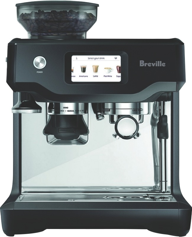 Breville Barista Touch Fully Automatic Coffee Machine - Black Truffle BES880BTR