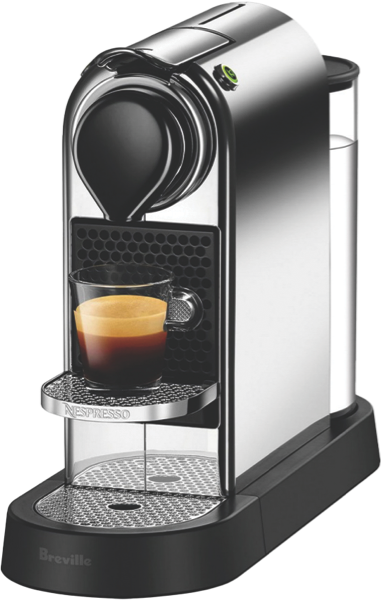 Breville Citiz Espresso Pod Coffee Machine - Chrome BEC630CRO
