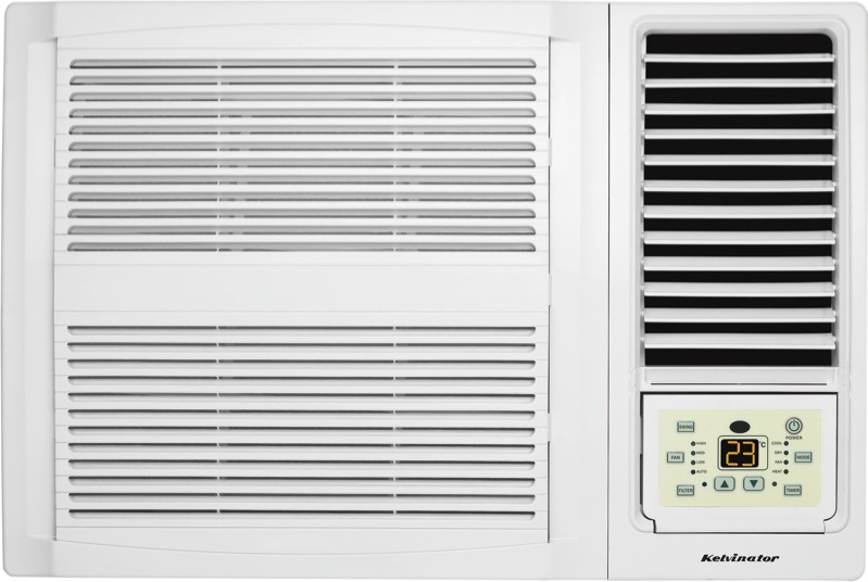 Kelvinator C3.9kW H3.6kW Reverse Cycle Window Wall Air Conditioner KWH39HRE