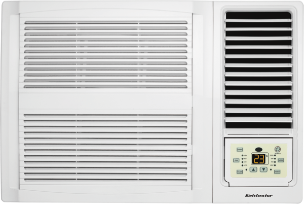 Kelvinator C2.7kW H2.45kW Reverse Cycle Window Wall Air Conditioner KWH26HRE