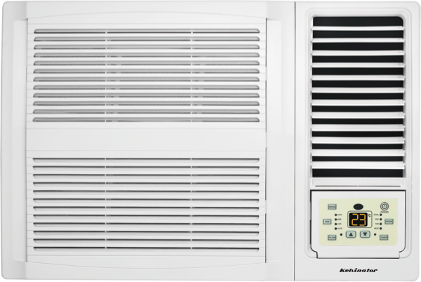 Kelvinator C2.2kW H1.9kW Reverse Cycle Window Wall Air Conditioner KWH20HRE