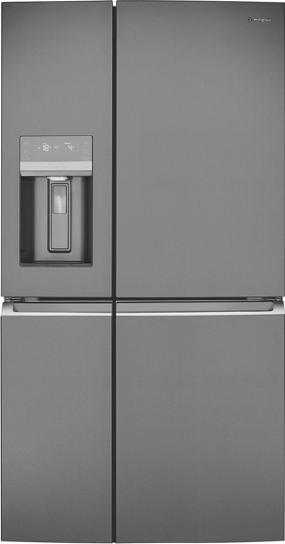 Westinghouse 680L Quad Door Fridge - Dark Stainless Steel WQE6870BA