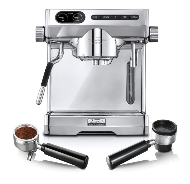 Sunbeam Pump Espresso Plus Pod Coffee Machine EM7100