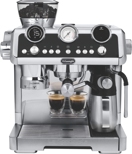 DeLonghi La Specialista Maestro Pump Espresso Coffee Machine - Stainless Steel EC9665M
