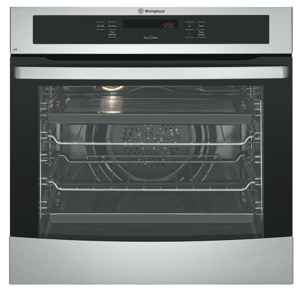 Westinghouse 60cm Built-in Pyrolytic Oven WVEP618S