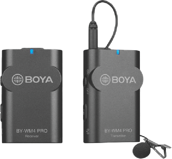 Boya BY-WM4 Pro Wireless Microphone system 500105