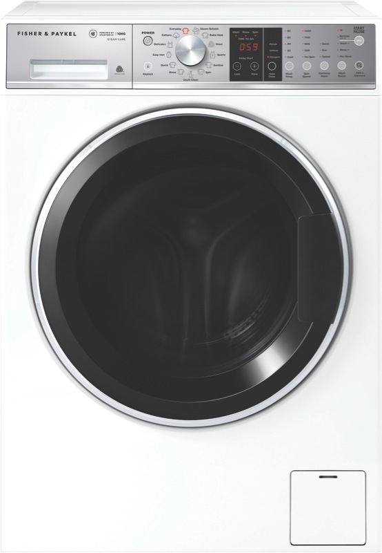 Fisher & Paykel 10kg Front Load Washing Machine WH1060S1