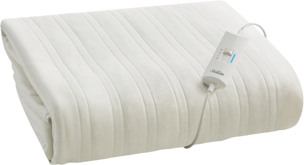 Sunbeam Sleep Express Boost Queen Electric Blanket - White BLB4851