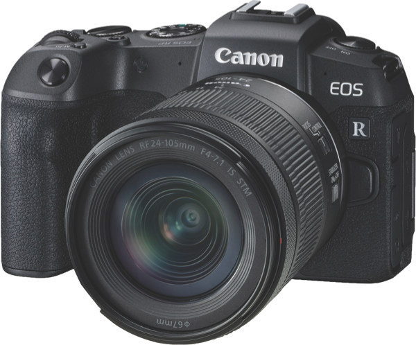 Canon EOS RP Mirrorless Camera + 24-105mm Lens Kit RPKIT24105